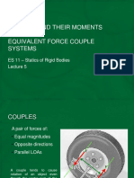 Lecture 5 - Couples, Equivalent Force Couple Systems.pdf