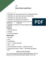 Laboratorio 5 Quimica Inorganica