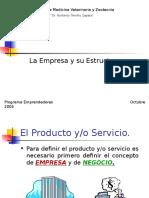 La Empresa y Su Estructura