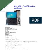daftar laptop secon.doc