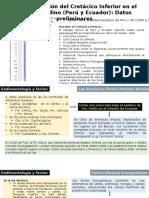 La Transgresión Del Cretácico Inferior en El Margen Andino (Perú y Ecuador)_Datos Preliminares_CHRISTIAN ROMERO