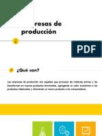 Empresas de producción