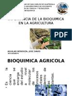 Importancia de la bioquímica en la agricultura