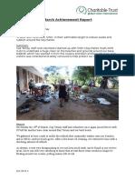 Cap Ternay Achievement Report March 2016