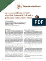 La Ecografia Clinica Permite Determinar Causa de Ictericia en Neonatos y Lactantes