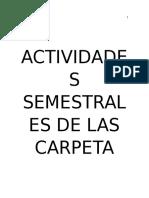 Actividades de Carpeta de Evidencias 2016 B EYV ICS LIT Y PSIC