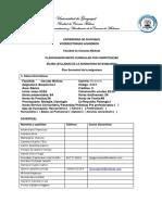 Syllabus Bioquimica i y II