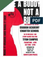 Guåhan Charter Academy 5k - Oct. 15, 2016