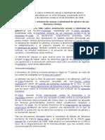 Declaración de La ONU Sobre Orientación Sexual e Identidad de Género