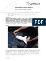 Curieuse Achievement Report June 2016