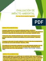 Diapositivas evaluación de impacto ambiental