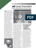 Ann Arbor Guide 2003 - New Urbanism