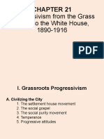 Chp 21 Progressivism