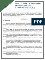 Anamneza neurologica