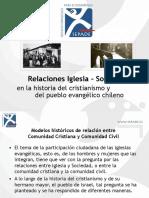 La historia del cristianismo y del pueblo evangélico chileno