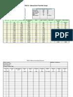 Manual Batch Records Mix Design Excel