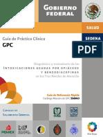 GRR SS-664-13 DX Y TX de Las Intox Opiaxceos y Benzodiacepinas