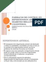 Farmacos de Control en Hipertension Arterial , Diabetes