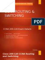 CCNA ROUTING & SWITCHING 200-120 2016 Updated Exam