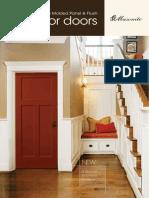 Catalog Interior Molded Panel Flush