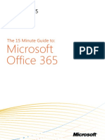 15 Minute Guide to Office 365