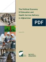 AREU (2016), The Political Economy of Education and Health Service Delivery in Afghanistan