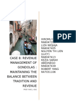 Revenue Management of Gondolas Maintaining the Balance Between Tradition and Revenue (1)