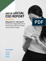 CEO.com Social CEO Report 2015