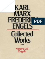 Marx Engels Collected Works Volume 25 Ka Karl Marx1