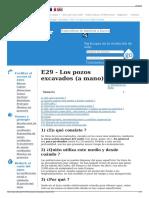 E29 - Los Pozos Excavados (a Mano) - Wikiwater