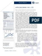 ABIL_Non-Retail Deposit Taking Strategy Clouds Long Term Growth Outlook_Initiating With a HOLD