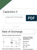 Capacitor Discharge