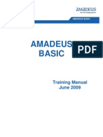 Amadeus Vista Basic reservation Doha