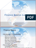 Oracle Finance Trial Balance and Ledger Details