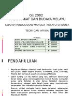 Masyarakat dan Budaya Melayu