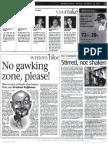 Mumbai Mirror - No Gawking Zone
