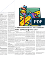 A New Conversation About Dreams Who Is Directing Your Life?