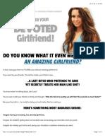 Devoted Girlfriend System