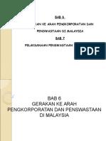 Slide Pentadbiran Awam Korporat BAB 6&7