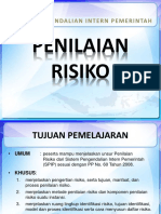 PENILAIAN RESIKO