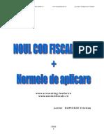2016.02. Suport Curs Noul Cod Fiscal