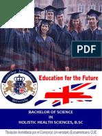 Bachelor Holistic Health Sciences