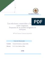 Las Relaciones Comerciales a Largo Plazo Entre Empresas Propuesta de Un Modelo Integrador de Enfoques 0