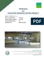 1000-1500 1FNL Semi Automatic MWP Plant Offer STD EXPORT