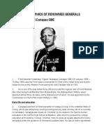 Biographies & War Heroes