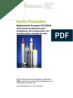 Guía Práctica Aplicación Reglamento Europeo 517-2014