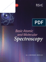 [J] Basic Atomic and Molecular Spectroscopy