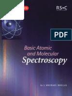 [J] Basic Atomic and Molecular Spectroscopy