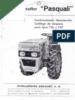 Pasquali 956/957 User Manual