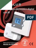 Salus RT300RF Manual Instrucciones